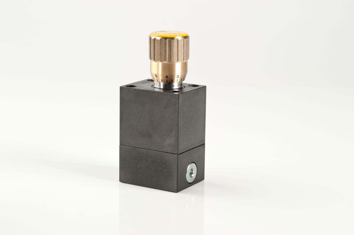 Cetop flow control valves