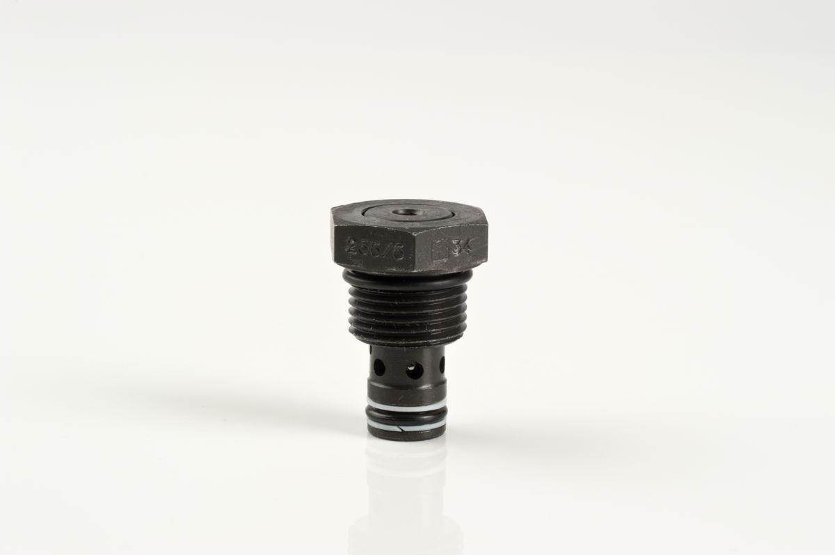 UNF carbon steel threaded cartridge check valves